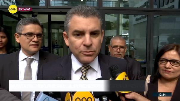 Fiscales del equipo especial Lava Jato interrogaron a Jorge Barata.