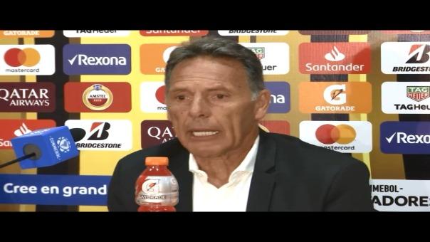 Miguel Ángel Russo llegó a los 10 partidos consecutivos sin ganar con Alianza Lima.