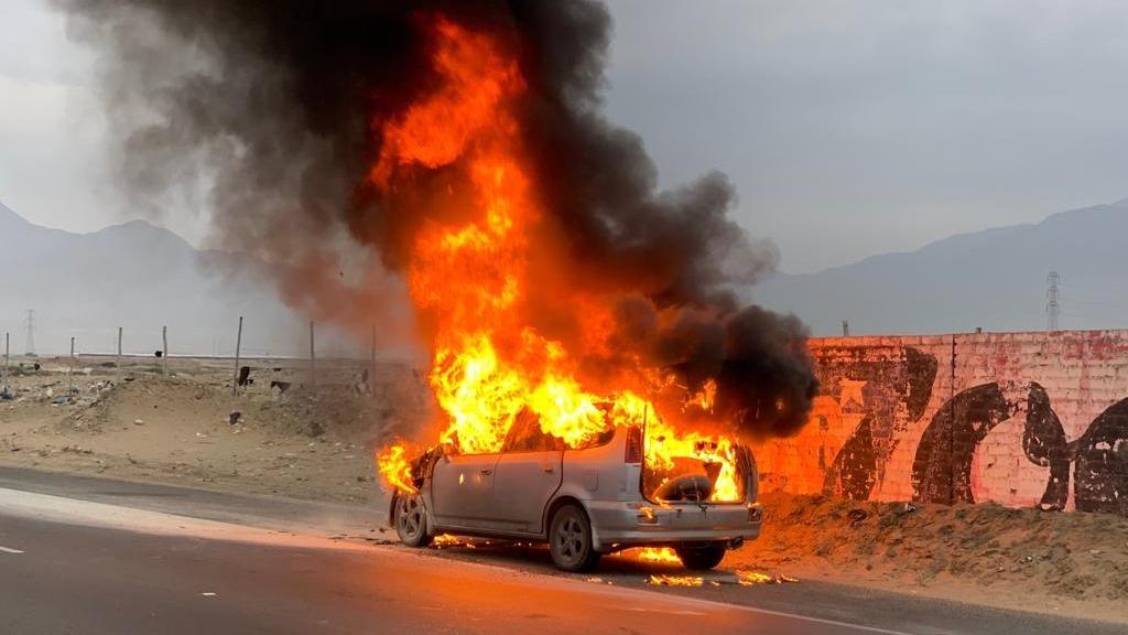 No se registraron heridos. Bomberos controlaron el incendio.