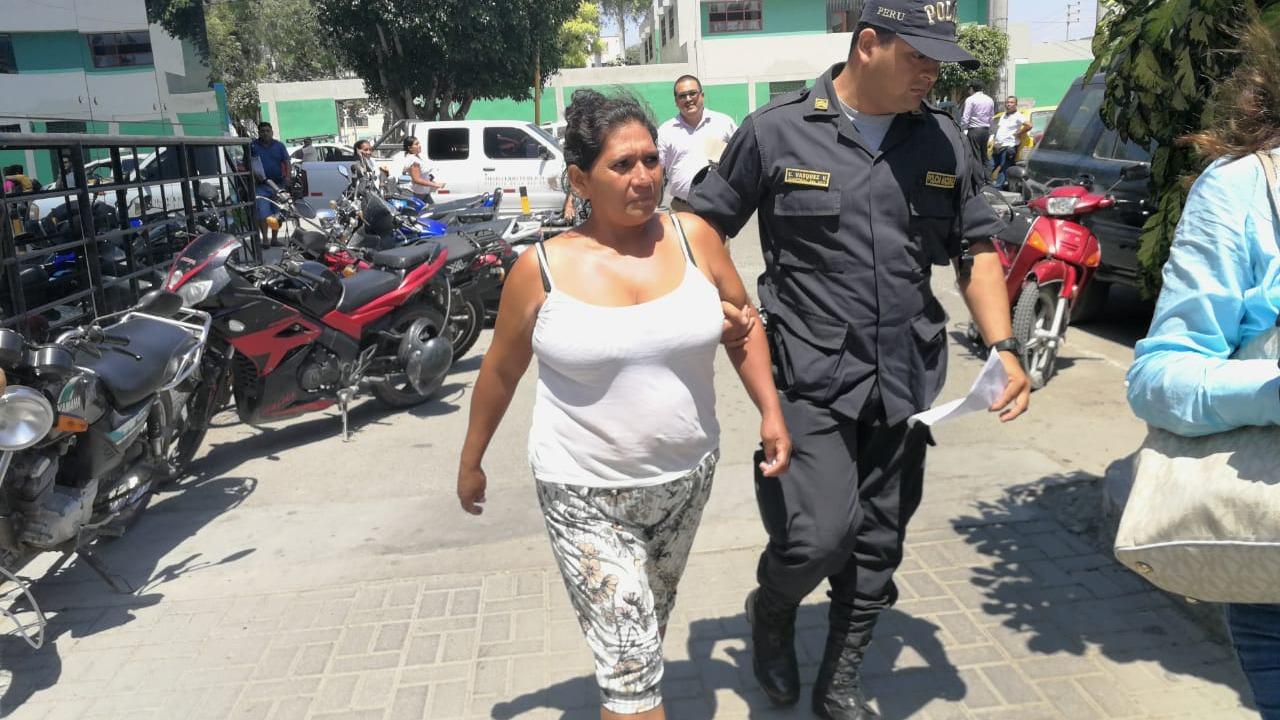 Madre que agredió a su hija