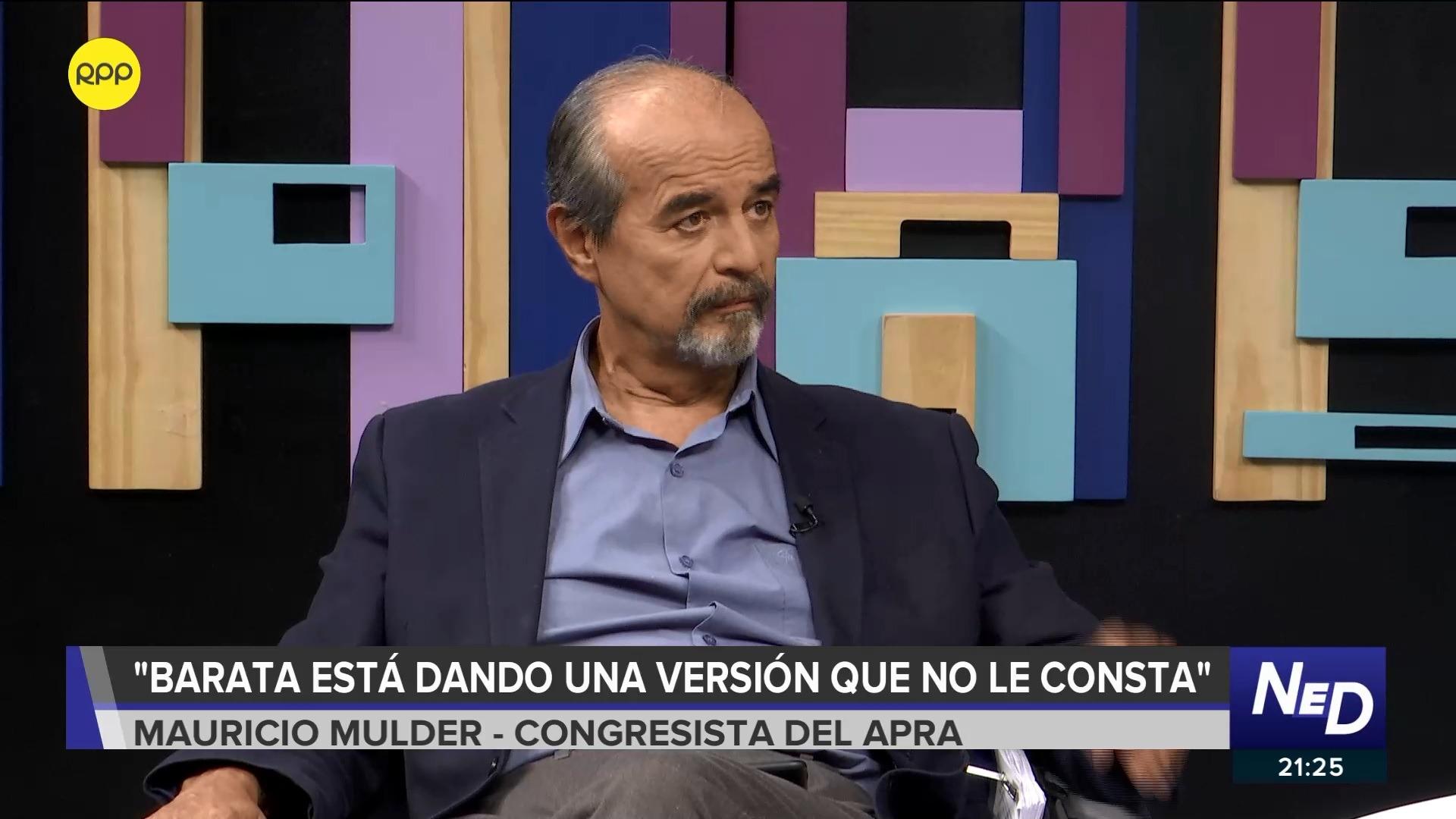 El parlamentario se pronunció sobre las recientes declaraciones de Jorge Barata.