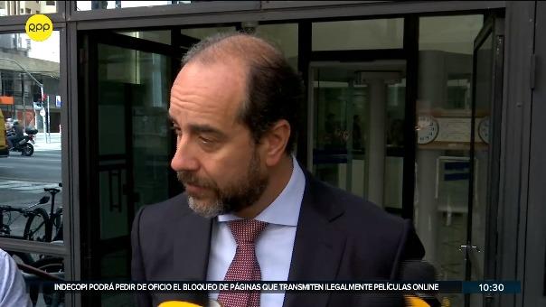 Carlos Kauffman, abogado de Jorge Barata.