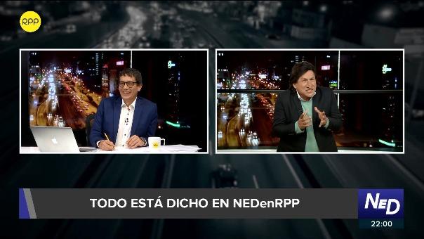Alejandro Choledo concedió una entrevista al programa Nada Está Dicho en RPP.