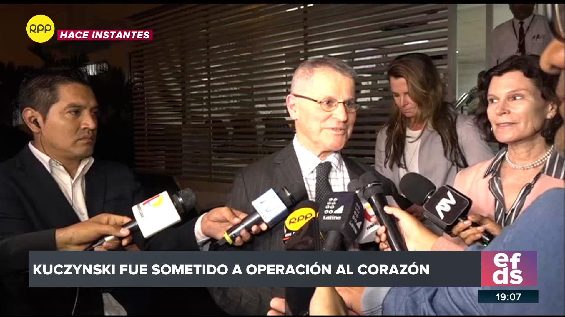 Miguel Kuczynski, hermano del expresidente confirmó que este se encontraba bien tras la operación.
