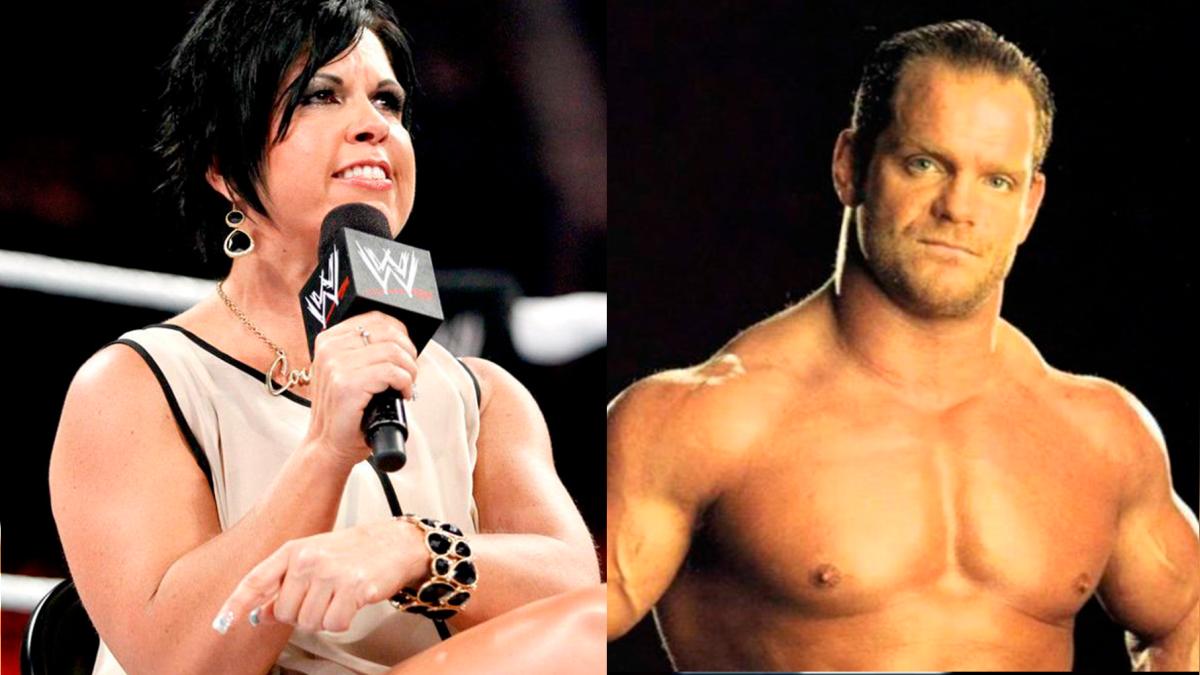 Vickie Guerrero y Chris Benoit