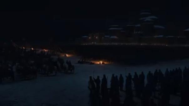 Los muertos se enfrentan a los vivos por Winterfell en