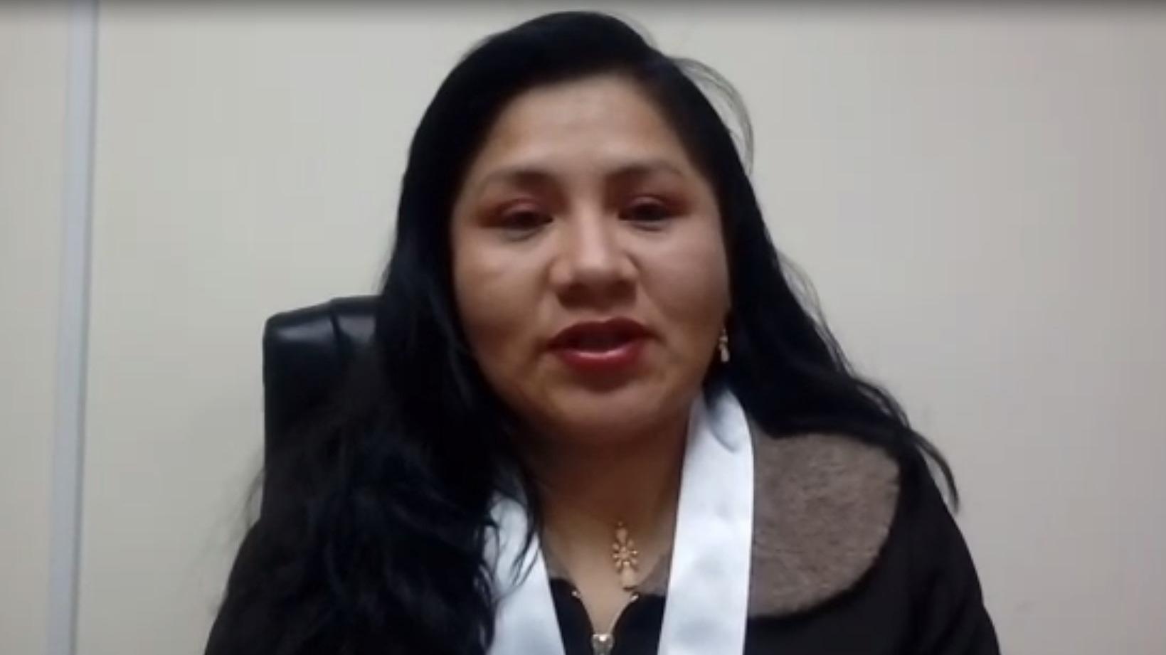 La magistrada Kati Rocio Jurado Taipe integró la sala que dio esta ejemplar pena a los jóvenes.
