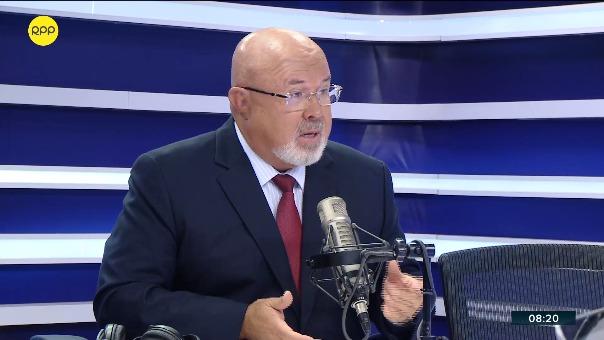 Congresista y exministro Carlos Bruce en RPP Noticias.