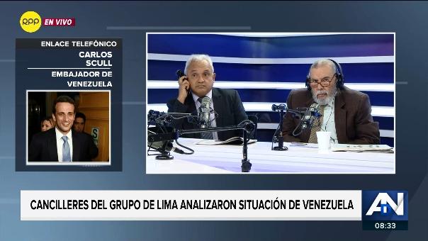 Entrevista a Carlos Scull en Enfoque de los Sábados