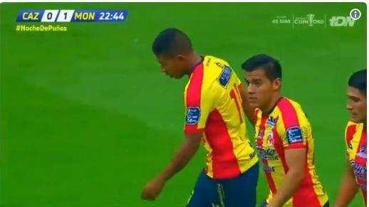 'Orejas' Flores anotó su quinto gol en la Liga MX