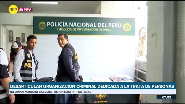 La investigación se inició a raíz de la denuncia de tres menores que comunicaron el hecho a la Policía luego de escapar de las manos de banda que las mantuvo en cautiverio.