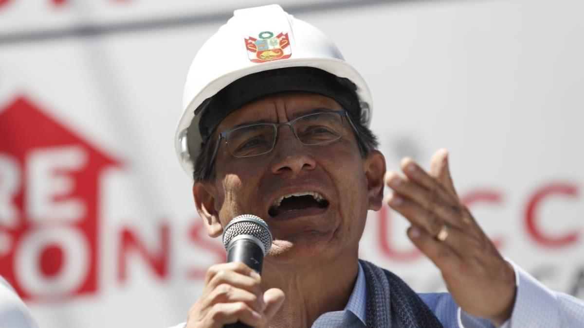 Presidente inspecciona las obras del Hospital Nacional PNP.