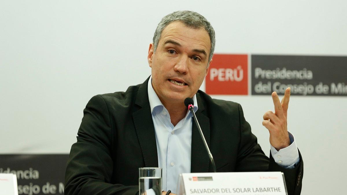 Salvador del Solar destacó la aprobación de la ley del cine.