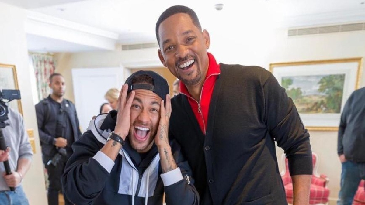 Neymar y su encuentro con Will Smith