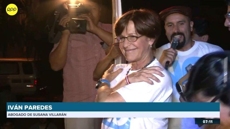 Iván Paredes Yataco, defensor legar del Susana Villarán, fue entrevistado en RPP Noticias.