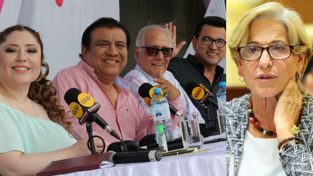 Los Chistosos parodiaron el caso de Susana Villarán.
