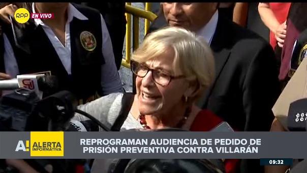 Villarán es investigada por aportes a sus campañas.