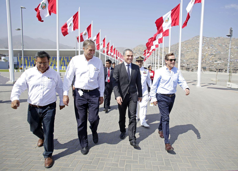 cb2cf15f164e Lima 2019 entregó centro acuático a la Federación Peruana de ...