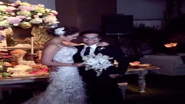 Karen Schwarz publica conmovedor video dedicado a Ezio Oliva por aniversario de matrimonio.