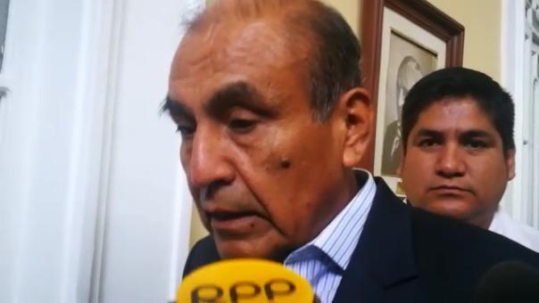 El alcalde de Trujillo, Daniel Marcelo.