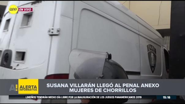 Susana Villarán enfrenta una orden de prisión preventiva.