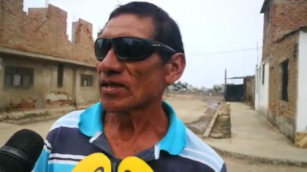 Los moradores expresan su preocupación por eventuales desastres.