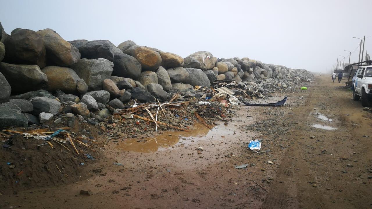 El balneario de Buenos Aires es uno de los más afectados por la erosión costera en Trujillo.