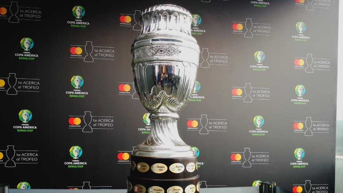 La Copa América irá del 14 de junio al 7 de julio.