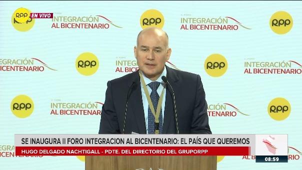 Inauguración del II Foro Integración al Bicentenario