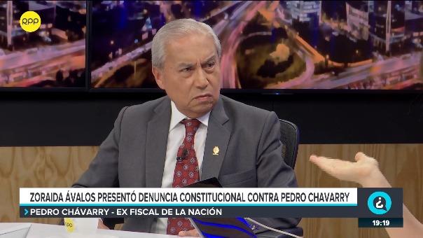 Pedro Chávarry señaló que la Fiscal de la Nación no toma testimonio de otros testigos el día del deslacrado de la oficina del Ministerio Público.