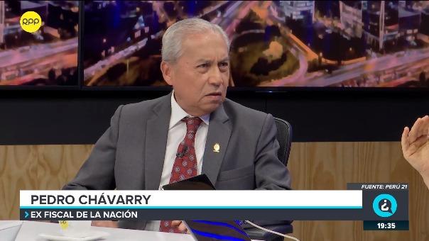 Pedro Chávarry señala que no recibe documentación de las Fiscalías especializadas.
