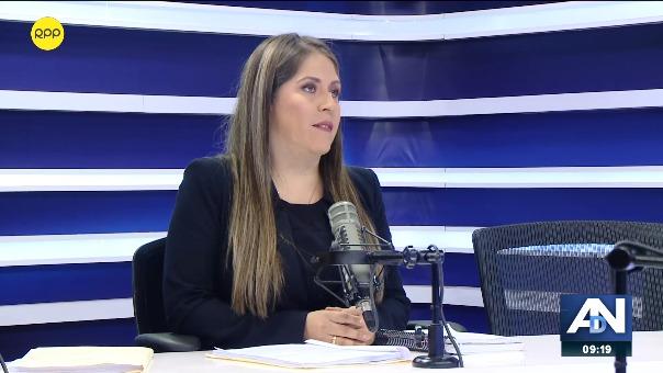 Yeni Vilcatoma es congresista de Fuerza Popular.