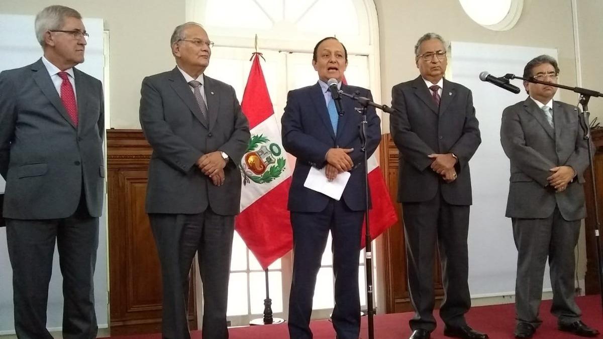 Se anuncian medidas para lograr encaminar el proceso de conformación de la Junta Nacional de Justicia.