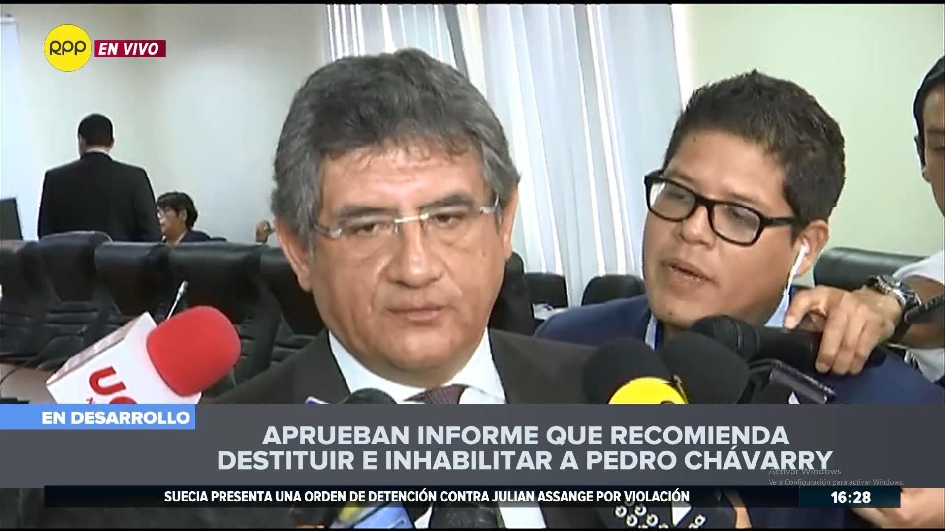 El parlamentario aseguró que Fuerza Popular no tiene mayoría en la Comisión Permanente.