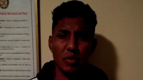 Adrianzén fue detenido junto con Josué Rodríguez del Sport Boys y otros dos sujetos acusados de violación.