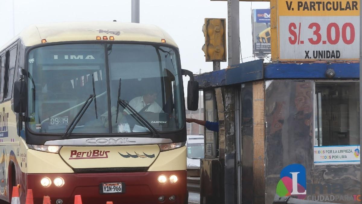 Polémica por costos de peajes en Lima.