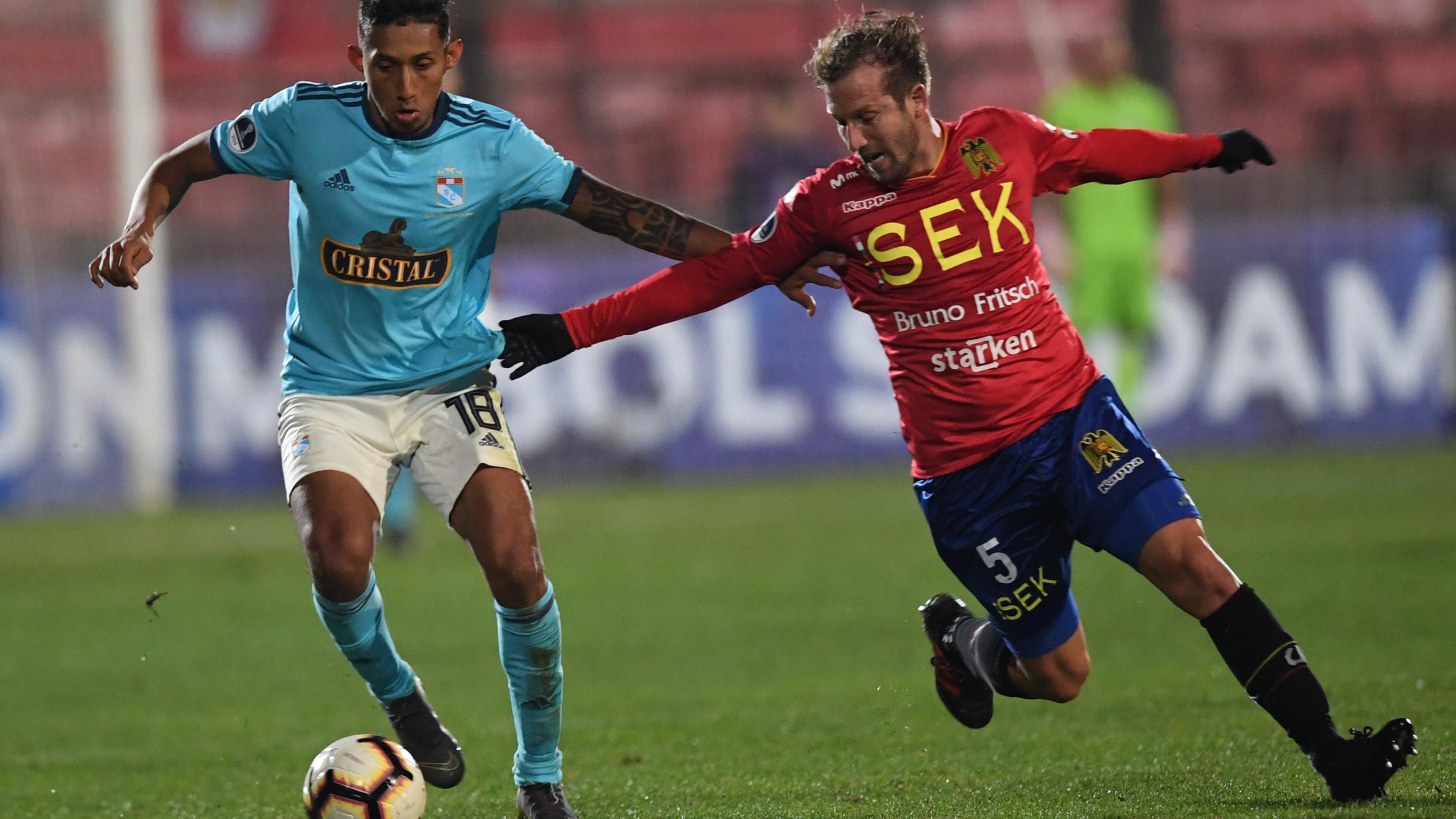 Sporting Cristal venció 3-0 a Unión Española por la Copa Sudamericana