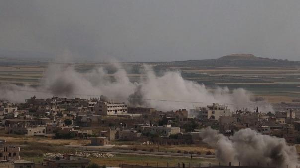 Se registra un aumento de los combates en el noroeste de Siria que han causado decenas de combatientes muertos y heridos desde el martes.