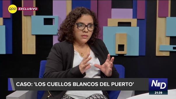 Fiscal Rocío Sánchez señaló que