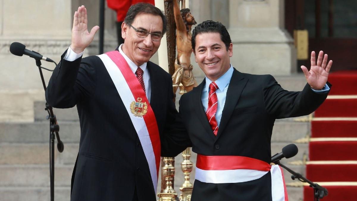 Salvador Heresi fue ministro de Justicia en la gestión de Martín Vizcarra.