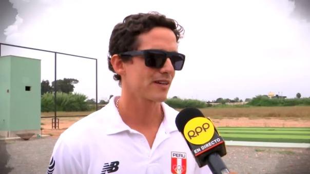 El tirador nacional Alessandro de Souza rumbo a los Juegos Panamericanos.