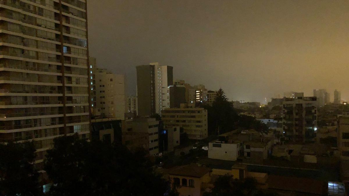 El corte de luz se produjo a la medianoche del miércoles.
