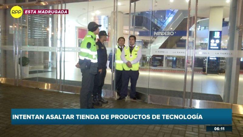 Las tiendas de productos tecnológicos son los nuevos blancos de los delincuentes.