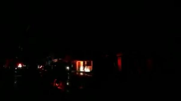 El terremoto afectó el fluido eléctrico en la ciudad de Iquitos.
