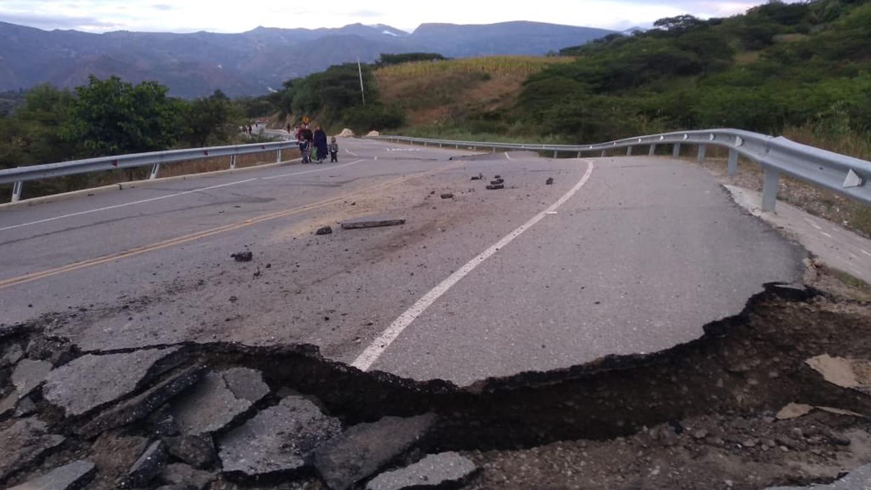 Esta carretera conecta Cajamarca con la provincia de Cajabamba.