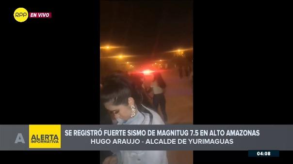 El alcalde Hugo Araujo en vivo por RPP Noticias