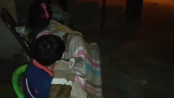 En Chiclayo la gente está durmiendo en las calles por temor a que exista una réplica.