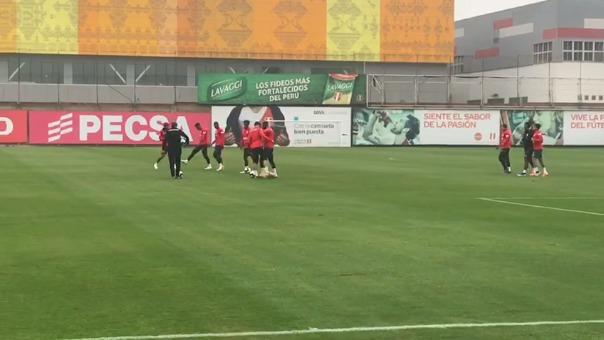 Selección Peruana volvió a los trabajos