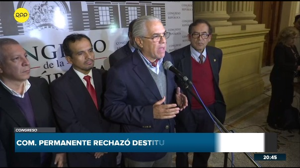 El congresista Gino Costa del Partido Liberal pidió la cuestión de confianza a Martín Vizcarra.