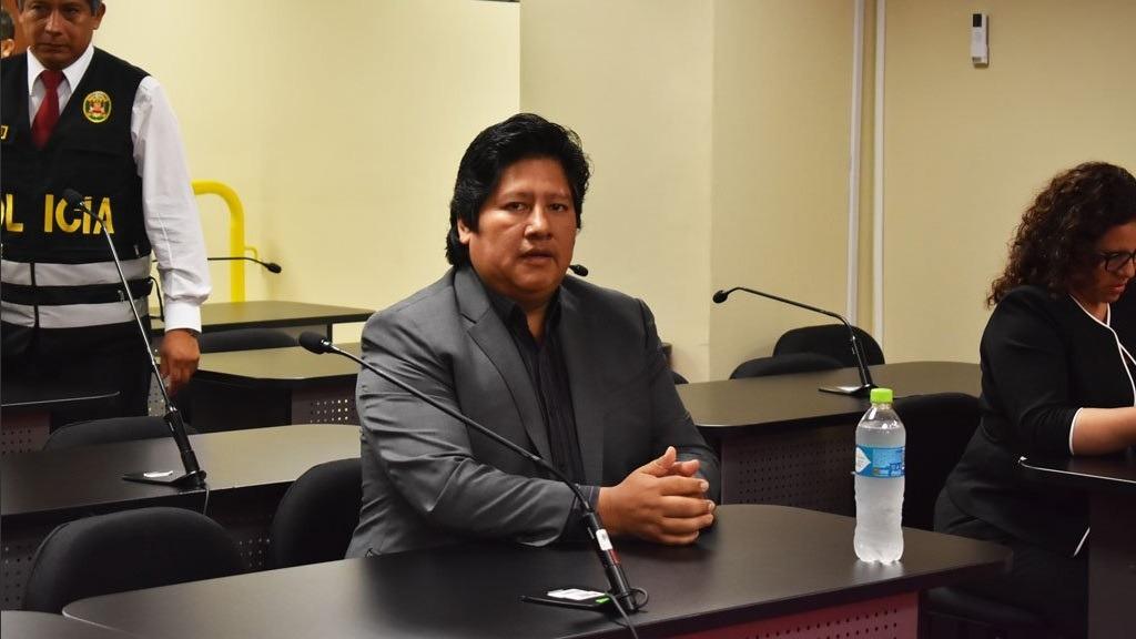 César Nakazaki es abogado de Edwin Oviedo.